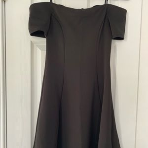 Forever 21 Off-the-Shoulder Skater Dress